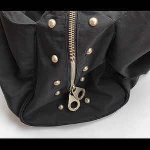 Baggallini Bags - Large Baggallini Travel Hobo Black Studded